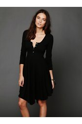 Miles of Henley Mini Dress
