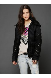 Embellished Puffer Jacket