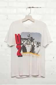 Vintage U2 1987 Tour Tee at Free People