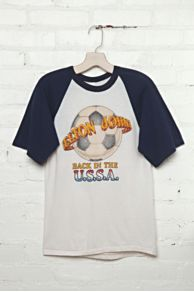 Vintage Elton John U.S.S.A. Graphic Tee at Free People