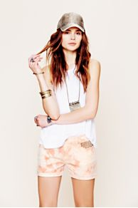 Maison Scotch Marie Tie Dye Short at Free People
