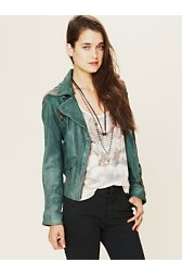 Emerald City Leather Jacket
