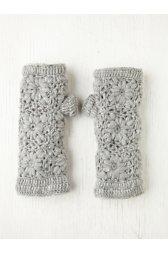 Crochet Fleece Armwarmer