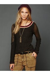 FP New Romantics Badlands Embellished Top