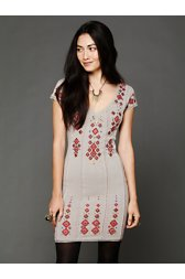 Rich in Embroidery Dress