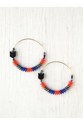Mixed Bead Earring