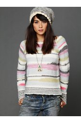 Cloud Pattern Pullover
