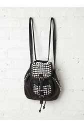Studded Convertible Backpack
