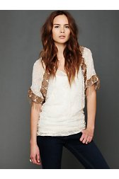 Entwined Embroidery Top