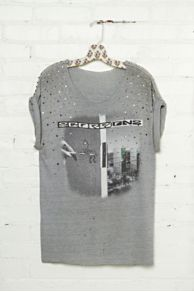 Vintage Studded Scorpions Tee at Free People