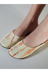 Moroccan Beaded Slipper