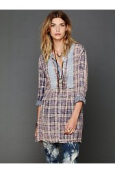 Freeport Plaid Shirtdress