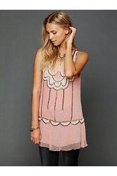 Sleeveless Embellished Molly Tunic