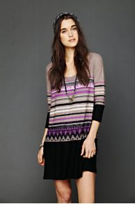 Alpine Sweater Dress at Free People