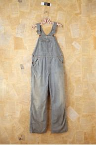 Vintage Striped Denim Overalls at Free People