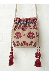 Aries Embroidered Crossbody