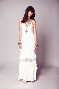 Kristal's Limited Edition White Dress at Free People