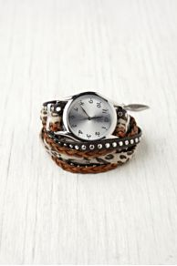 Sara Designs Animal Stud Wrap Watch at Free People