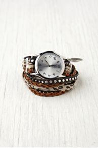 Sara Designs Animal Stud Wrap Watch at Free People