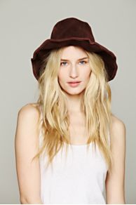 Lovely Bird Suede Bohemia Hat at Free People