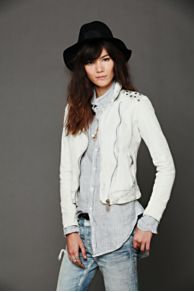Doma Studded Leather Jacket at Free People