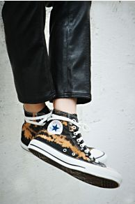 Converse Skull Studded High Tops at Free People