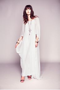 Dana's Limited Edition White Story Dress at Free People