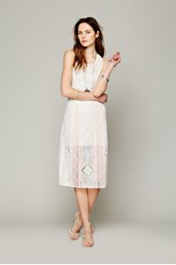 Miracle Lace Midi Dress at Free People