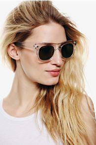 Final Say Sunglasses at Free People