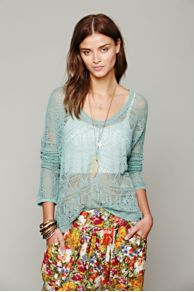 Intimately Pointelle Pullover Sweater at Free People