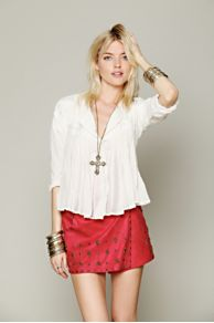 Ladakh Embellished Wrap Mini at Free People