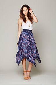 Kaleidoscope Fly Away Skirt at Free People