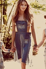 Colorado Overall Skirt at Free People