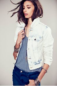 Love Always FP Denim Jacket at Free People