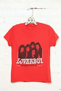 Vintage Loverboy 1982 Tour Tee at Free People
