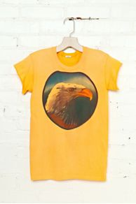 Vintage Eagle Head Graphic Tee at Free People