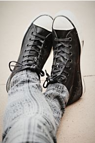 Converse Staple Hi Top Chucks at Free People