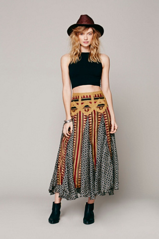 Lotta Stensson Womens Maracana Silk Skirt