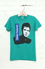 Vintage Peter Gabriel 1986 Tee at Free People