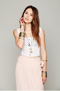 Eyelet Crop Tank at Free People