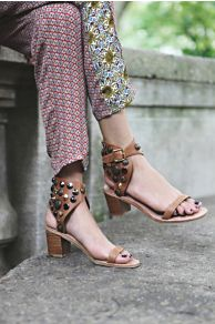 Jeffrey Campbell Maud Metal Heel at Free People