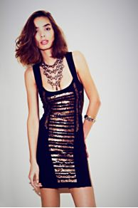 Summer Love Sequin Mini at Free People