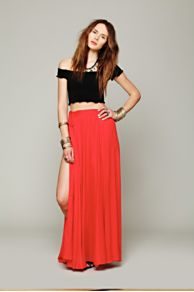 Flowly Slit Skirt at Free People