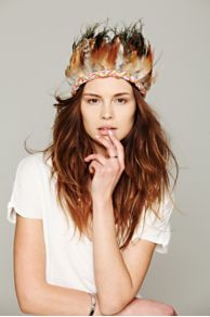 Ettika Feather Headdress at Free People