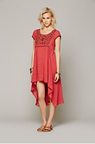 Marina Embroidered Dress at Free People