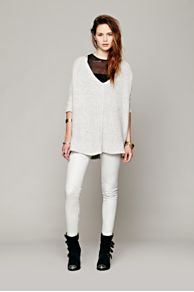 Doma Seamed Leather Legging at Free People