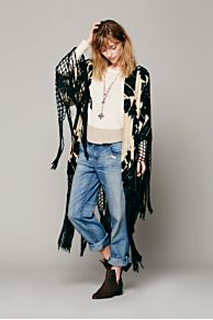 Spell & the Gypsy Storm Tassel Kimono at Free People