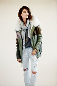 One Teaspoon  Patchwork Parka at Free People