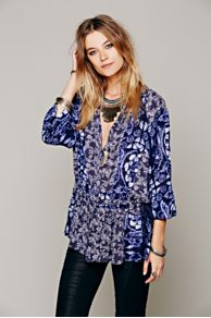 Ratio Print Tunic at Free People