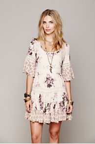 Dream Cloud Print Dress at Free People